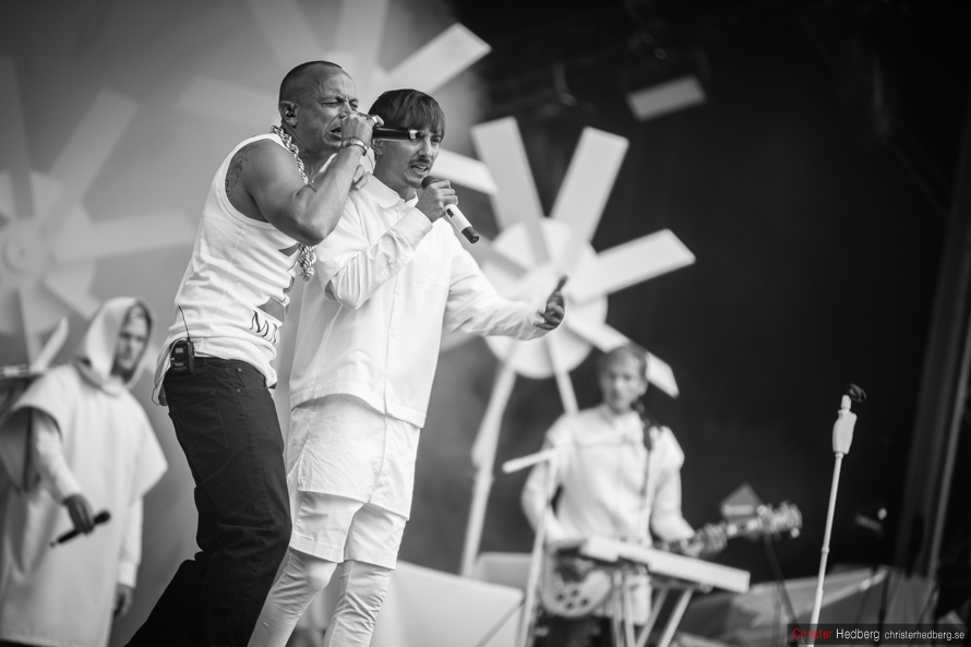 Daniel Adams Ray feat. Petter at Way Out West 2013. Photo: Christer Hedberg   christerhedberg.se