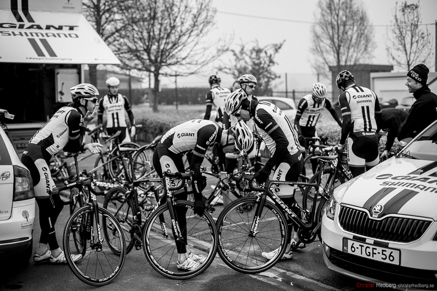 Team Giant-Shimano @ Paris-Roubaix 2014. Photo: Christer Hedberg | christerhedberg.se