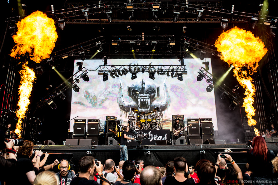 Motörhead at Way Out West 2014. Photo: Christer Hedberg | christerhedberg.se
